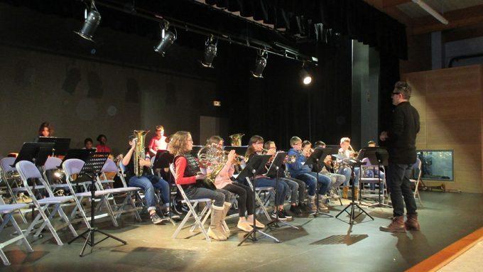 Remise instruments et concerts Classe Orchestre