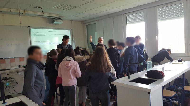 Journée pédagogique des élèves de CM au collège 19/03/2019 et 28/03/2019