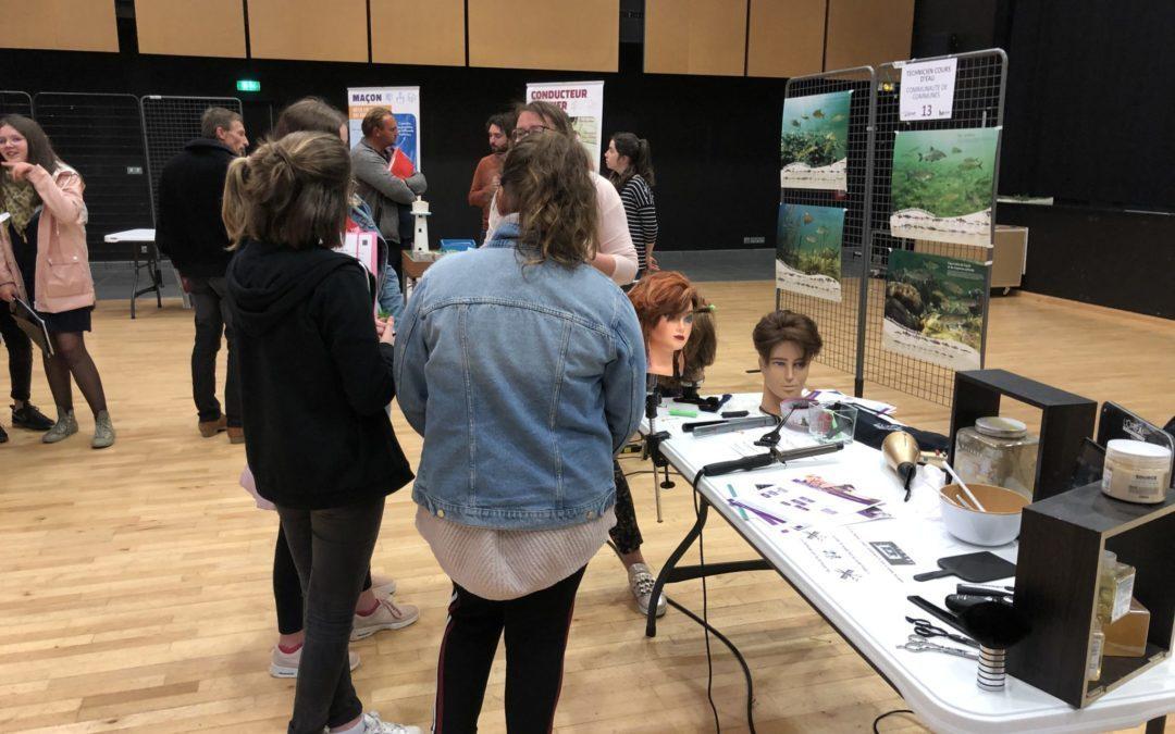 Forum des métiers Gorron 25/04/2019