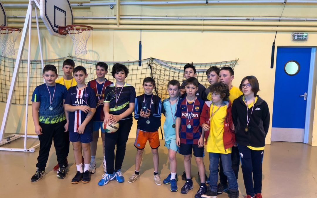 Résultats district volley-ball 05/02/2020