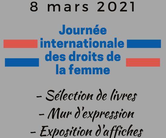 Au CDI du 8 au 12 mars 2021